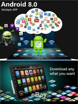 10.11080P Touch Screen 4CPU + 4GPU 1+16G Car Stereo Radio GPS Wifi 3G 4G BT DAB