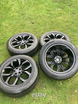 19 Genuine Range Rover Velar Evoque Discovery Sport Alloy Wheels Pirelli Tyres