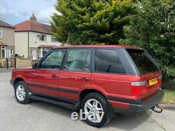 +++1996 P Land Rover Range Rover 2.5 Td Manual 4x4 5 Door Suv P38+++