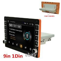 1Din 9in Car Stereo Radio MP5 Player Android 8.1 GPS SAT NAV Bluetooth Wifi FM