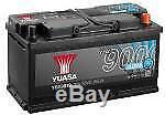 1x YUASA Stop Start 95Ah 850CCA 12v 017 AGM Car Battery 4 Year Warranty YBX9019