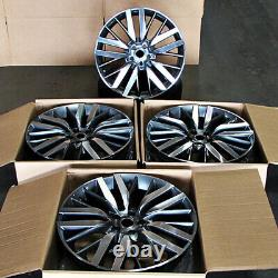 20 20x9.5 Svr Wheels Fit Land Rover Range Rover Hse Sport Discovery Superch