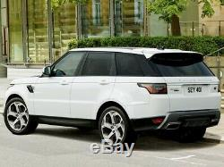 20 Genuine Range Rover Sport Vogue Discovery Svr L495 L405 Alloy Wheels Tyres