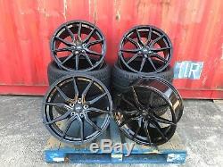 20 Spyder Black Alloy Wheels + Tyres Range Rover Sport Discovery Velar Sport
