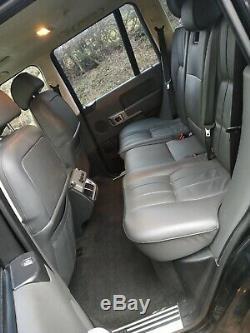 2002 Land Rover Range Rover L322 VOGUE TD6 BLACK ONLY 126K miles