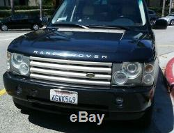2003 Land Rover Range Rover Magnolia with Blue accents