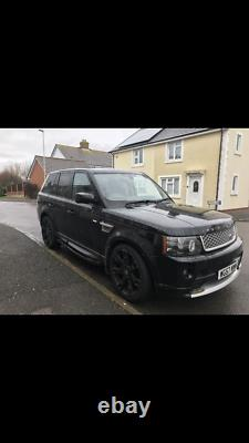2007 Land Rover Range Rover sport Hse AUTOBIOGRAPHY black 2.7 tdv6