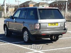 2011 Landrover Rangerover Vogue 4.4 Tdv8 Bi-turbo V8 Range Rover Grey 313 Bhp