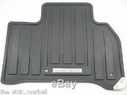 2014-2019 Range Rover Sport LHD All Weather Rubber Floor Mats Set Genuine New