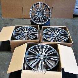 22 22x9.5 DYNAMIC WHEELS FIT LAND ROVER RANGE ROVER HSE SPORT DISCOVERY SUPERCH
