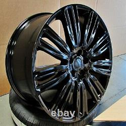 22 22x9.5 DYNAMIC WHEELS FIT LAND ROVER RANGE ROVER HSE SPORT SUPERCHARGE