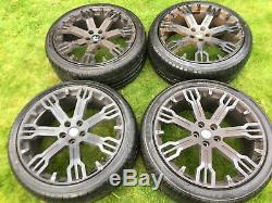 22 Genuine Hawke Range Rover Sport Vogue Discovery Alloy Wheels Tyres Svr