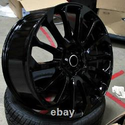 24 24x10 Autobiography Wheels Fit Land Rover Range Rover Hse Sport Discovery