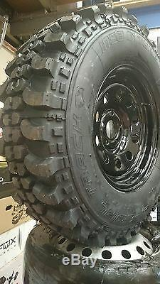 4 X Land Rover Wheels & Tyres Discovery 2 Off Road Wheels & Tyres 265/75x16 Insa