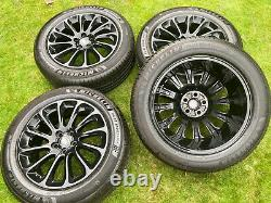 4 x 20 RANGE ROVER SPORT VOGUE DISCOVERY DEFENDER AUTOBIOGRAPHY ALLOY WHEELS
