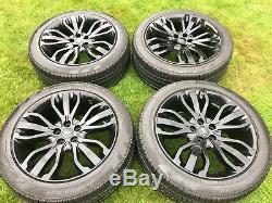 4 x 21 LAND ROVER RANGE ROVER SPORT VOGUE DISCOVERY SVR ALLOY WHEELS L405 L494