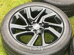 4 x 21GENUINE LAND ROVER RANGE ROVER SPORT VOGUE DISCOVERY ALLOY WHEELS TYRES