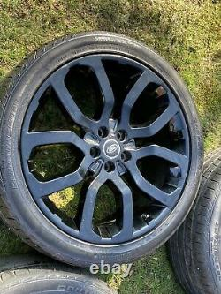 4 x 22 GENUINE RANGE ROVER VOGUE SPORT DISCOVERY AUTOBIOGRAPHY ALLOY WHEELS