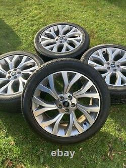 4 x AUTOBIOGRAPHY 21 RANGE ROVER VOGUE SPORT DISCOVERY ALLOY WHEELS TYRES