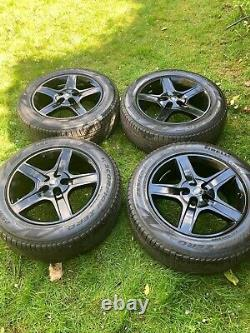 4 x GENUINE LAND ROVER 20 DEFENDER DISCOVERY VOGUE ALLOY WHEELS PIRELLI TYRES