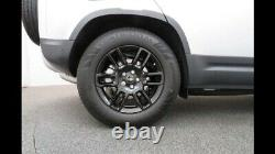 4 x LAND ROVER RANGE ROVER VOGUE DISCOVERY DEFENDER ALLOY WHEELS CONTI TYRES