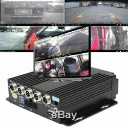 4CH CCTV Vehicle Security HD Realtime Recorder SW-0001A+4CCD Cameras High Remote