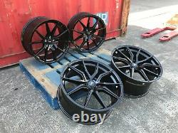 4x New 22 Inch Alloy Wheels Alloys Fits Range Rover Sport / Vogue Black Gloss B