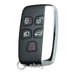 5 Button Remote Key Fob Case For Land Rover Range Rover Sport Evoque Discovery 4