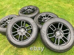 5 x 2021 Genuine 19 Land Rover Defender Alloy Wheels With 255 65 19 114V Conti