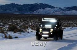 50 inch Curved Led Light Bar 288W Spot Flood Combo Beam Driving Lamp Cree ATV