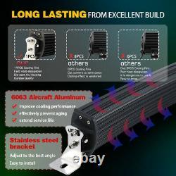 52 3000w LED Light Bar High Intensity Flood Lamp LAND ROVER DEFENDER 90 110 130