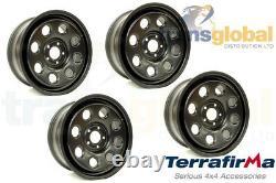 8 x 18 5 Stud Modular Steel Wheels for Land Rover Discovery 3 4 TERRAFIRMA