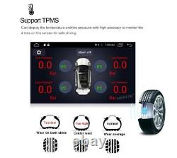8in 1Din Android 8.1 Quad-core 1+16GB Car FM Radio Stereo MP5 Player GPS SAT NAV