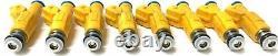 8x RANGE ROVER TVR MORGAN V8 EV6 UPGRADE 215cc 20lb FUEL INJECTORS 0280155746