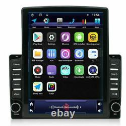 9.7In Vertical Screen Car Bluetooth Stereo Player Radio GPS Wifi 3G/4G OBD DAB