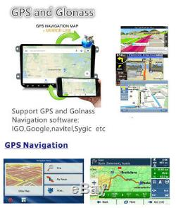 9 Android 9.1 1080P Quad Core 1GB+16GB GPS Navigation Car Stereo Radio 2 Din