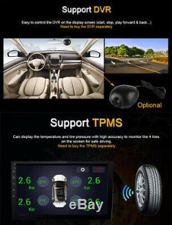 9 inch Android 8.1 Adjustable 2+32GB Car Stereo Radio GPS Wifi BT Mirror Link