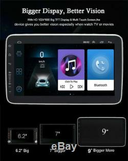 9 inch Car Stereo Radio 1 Din FM GPS Navi MP5 Player Touch Screen Android 16GB