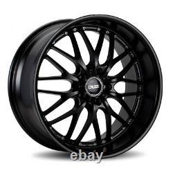 Alloy Wheels 18 Cruize 190 MB Deep Dish Matt Satin Black 5x120 18 Inch Alloys