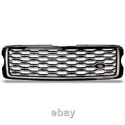 Black Chrome Facelift Look Front Grill Grille For Range Rover L405 Vogue 13-17
