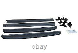 Black Edition Side Steps Running Boards For Land Range Rover Sport Oe Style