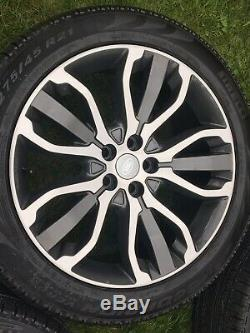 Black Genuine 21 Land Rover Range Rover Discovery Vogue Sport Alloy Wheels Svr