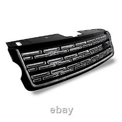 Black Sva Style Look Front Grille Side Vent Air Ducts For Range Rover L405 13-17
