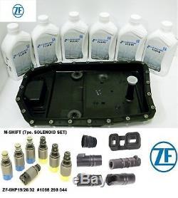 Bmw Audi Vw Jaguar Land Rover Transmission Pan+fluid+solenoids+seals+plug Zf