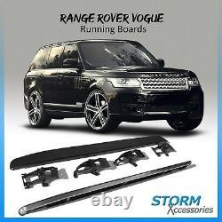 Brand New Aftermarket Side Steps Running Boards For Range Rover Vogue L405 2013+