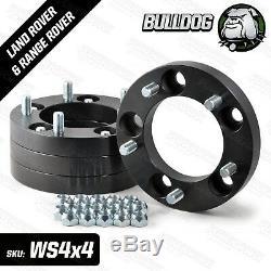 Bulldog 30mm Aluminium Land Rover Series Defender Disco RRC Wheel Spacer