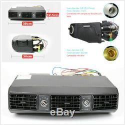 Car Truck Underdash 12V Air Conditioner Evaporator Unit A/C Compressor 3 Speed
