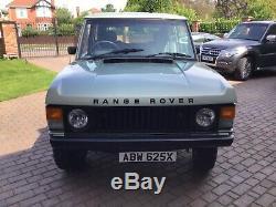 Classic 2 door Range Rover