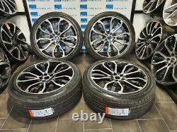 Fits Land Rover & Range Rover Sport 22'' Inch 5007 Style New Alloy Wheels&tyres