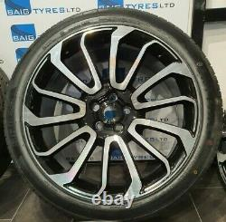 Fits Land Rover & Range Rover Sport 22'' Inch Turbine Style New Alloy Wheels